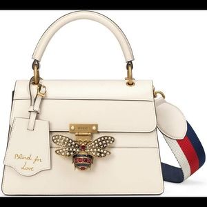 Gucci Queen Margaret white leather bag